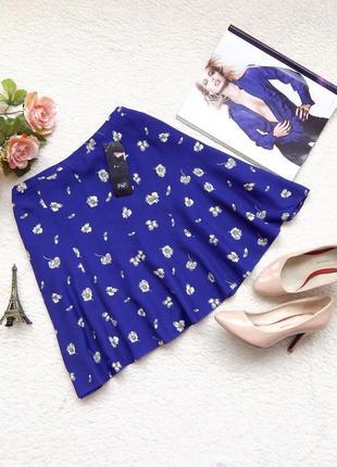 Новая юбка f&f в цветочный принт