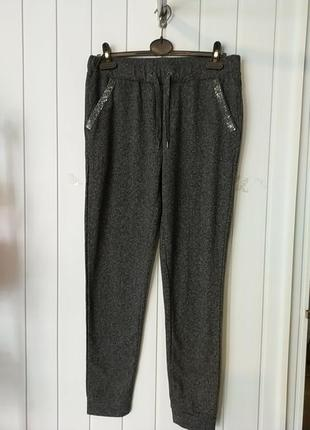 Супер трикотажные штаны на манжетах  mila