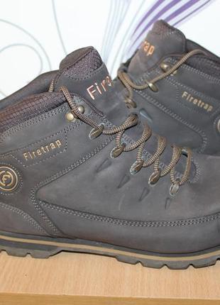 Мужские кожаные ботинки сапоги firetrap