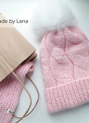 Hand made шапка для девочки