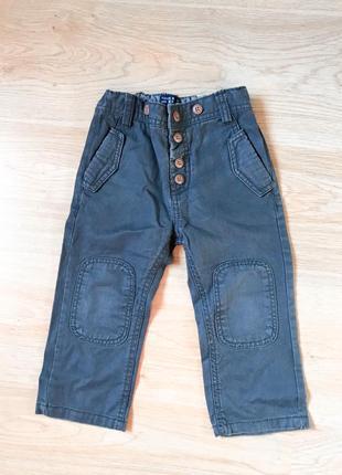 Брендовые стильные штаны на 18-24 мес.