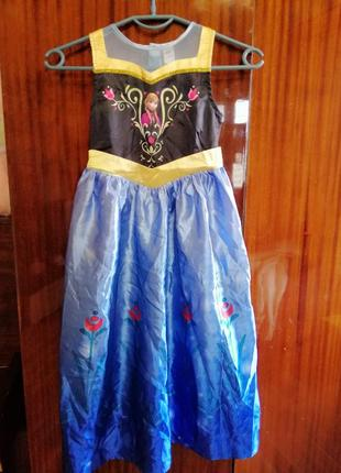 Платье анна холодное сердце 110-116