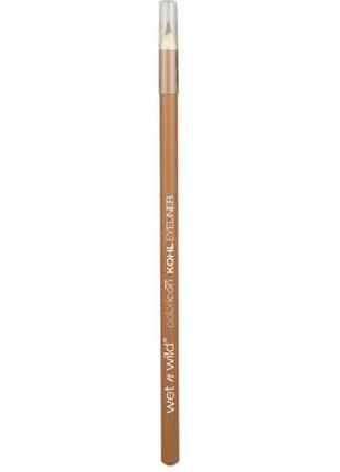 Каял -карандаш wet n wild color icon kohl eyeliner pencil  e604a taupe of the mornin'1 фото