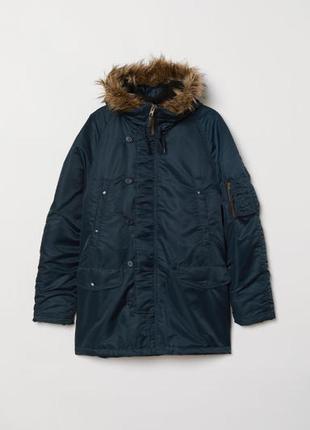 Куртка-парка мужская осень- зима