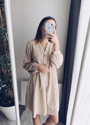 Платье вельветовое / сукня вельветова