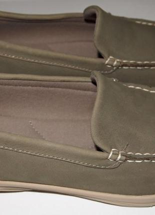Мокасины новые кожаные eastland в коробке
