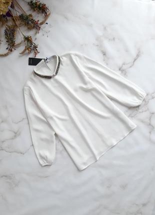 Нова блуза reserved з об'ємними рукавами