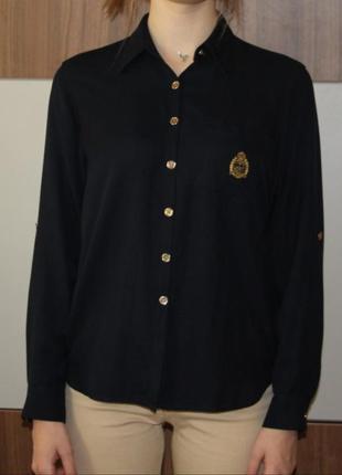 Рубашка, блузка женская шелковая ralph lauren