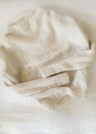 Крутой актуальный вязаный свитер в стиле zara джемпер очень мягкий легкий