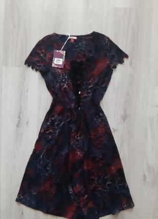 Платье с анималистическим принтом