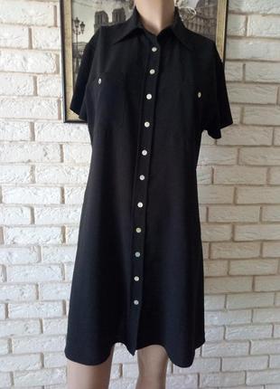 Стильное, строгое платье рубашка  14