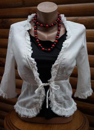 Жакет,блуза,накидка на завязке от atmosphere