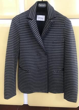 Жакет дизайнерский джерси стильный модный дорогой бренд италии ottodame размер 36