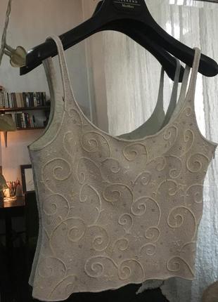 Топ шёлк escada couture