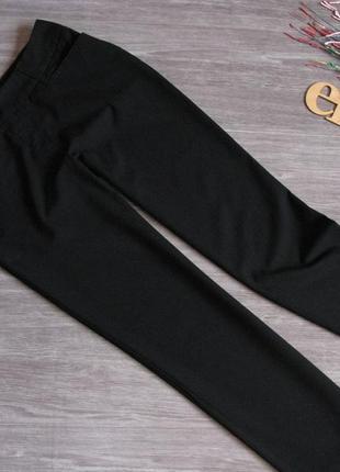 Базовые черные брюки c&a прямой крой размер eur 36-38