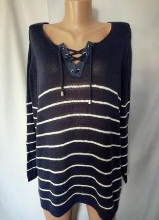 Стильный джемпер, свитер, большой размер