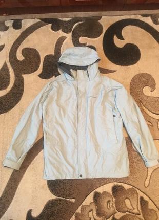 Сіра куртка berghaus мембрана дощовик вітровка