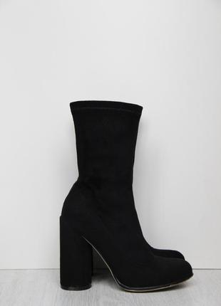 Шикарные ботинки / сапоги чулки ego
