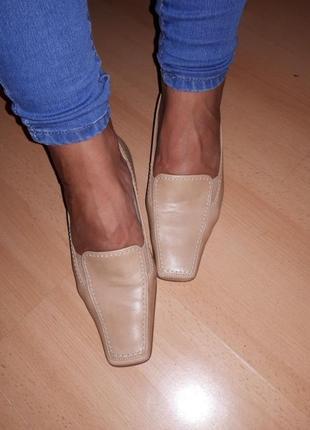 Туфли gabor кожа