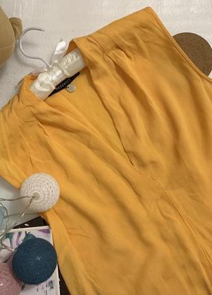 Блуза, блуза reserved, желтая блуза #розвантажуюсь