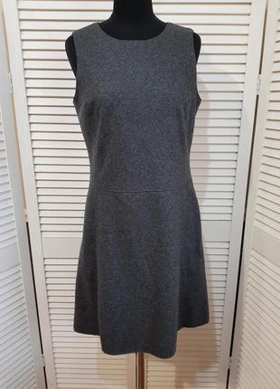 Серое теплое платье marc o polo