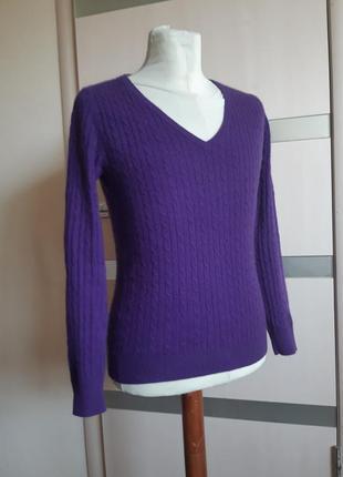Кашемировый свитер джемпер crew clothing