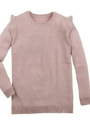 Стильный вязаный джемпер пуловер свитер