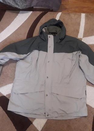 Термо куртка ветровка на флісовій підстьожці