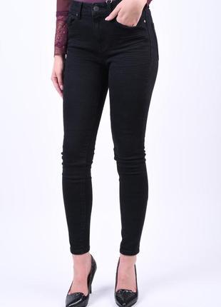 Базовые джинсы скинны высокая посадка от object