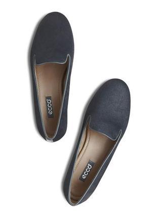 Лоферы, туфли, мокасины от ecco оригинал