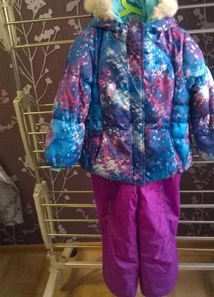 Zeroxposur зимний комплект куртка полукомбинезон l 6x