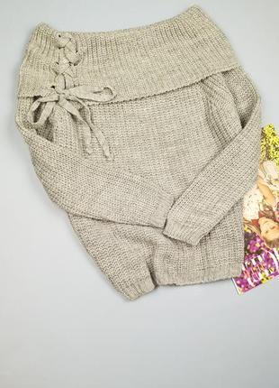 Вязаный свитер  styleboom