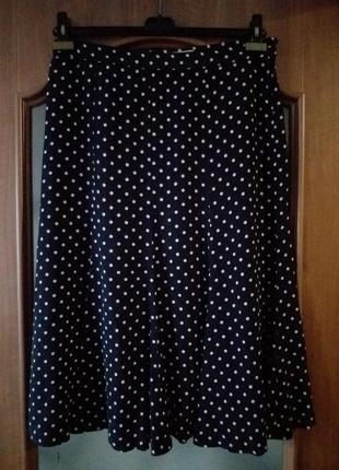 Max mara  шелковая юбка