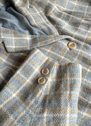 Пиджак теплый жакет блейзер canda