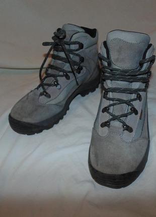 Ботинки мембрана everest оригинал замша как новые без нюансов размер 38