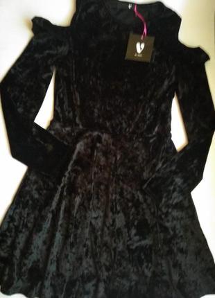 Велюрове плаття на 14р
