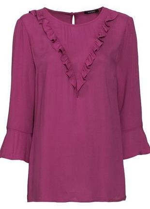 Новая блузка цвета фуксия esmara р. m