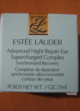 Крем вокруг глаз estee lauder advanced night repair eye 3 мл