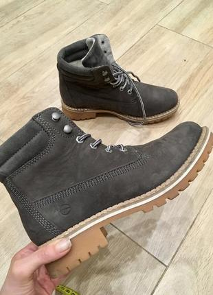 Ботинки з натуральної шкіри від tamaris!!