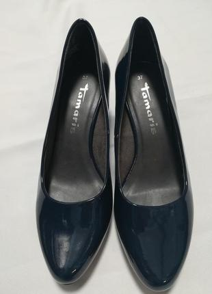 Туфлі темно-сині tamaris оригінал 37 р.
