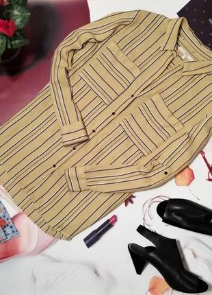 Рубашка next, вискоза, размер 14/42