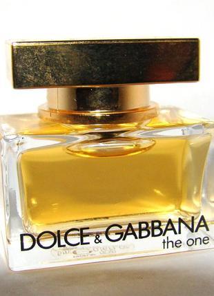 Миниатюра dolce&gabbana the one. оригинал