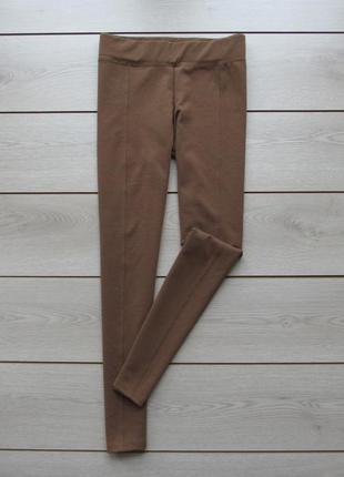 Шикарные трикотажные брюки скинни  джеггинсы лосины простроченные стрелки от atmosphere