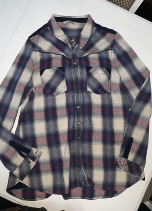 Теплая рубашка tu (100% cotton)