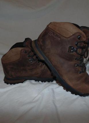 Ботинки с мембраной gore-tex berghaus оригинал кожа без дефектов