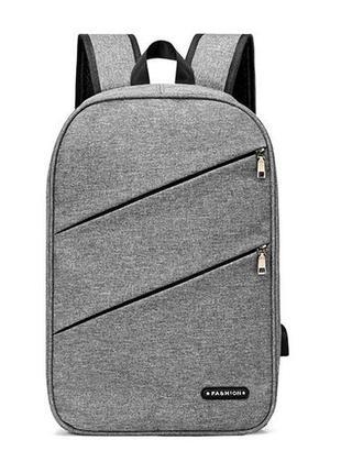 3-81 міський рюкзак анти-злодій з вбудованим usb-портом анти-вор