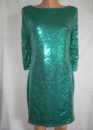 Новое платье пайетки bay