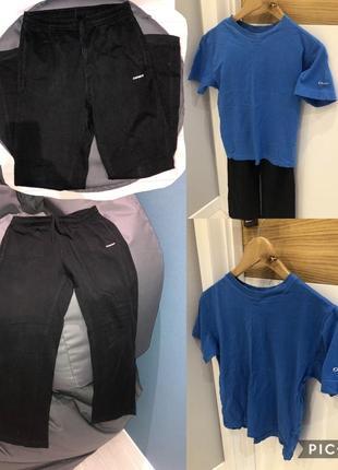 Спортивные штаны+футболка demix
