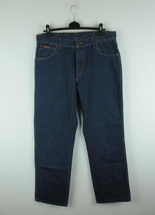 Оригинальные качественные джинсы wrangler texas dark stonewash
