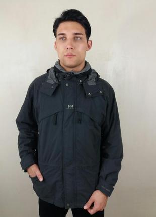 Шикарная утеплённая куртка от горнолыжного бренда helly hansen